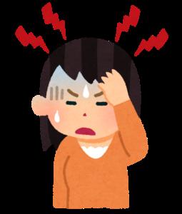 片頭痛イラスト